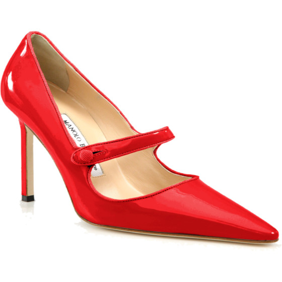 Manolo Blahnik Mary Jane | www.shoppingmycloset.com