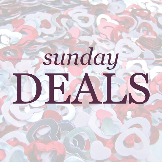 Sunday deals for February 16, 2014