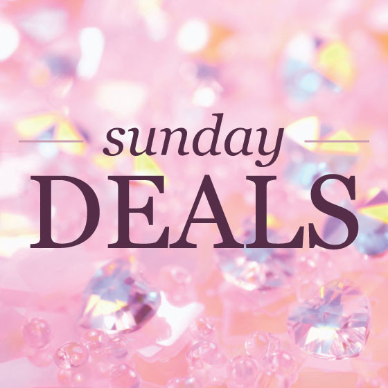 Sunday deals