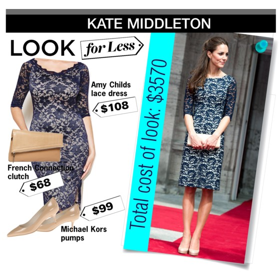 The look for less: Kate Middleton | www.shoppingmycloset.com