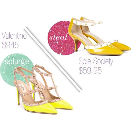 #valentino vs #solesociety | www.shoppingmycloset.com