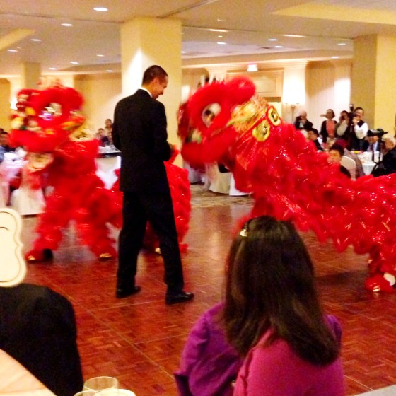 Dragon dancers  | www.shoppingmycloset.com