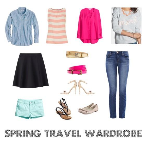 Packing for a spring getaway   www.shoppingmycloset.com
