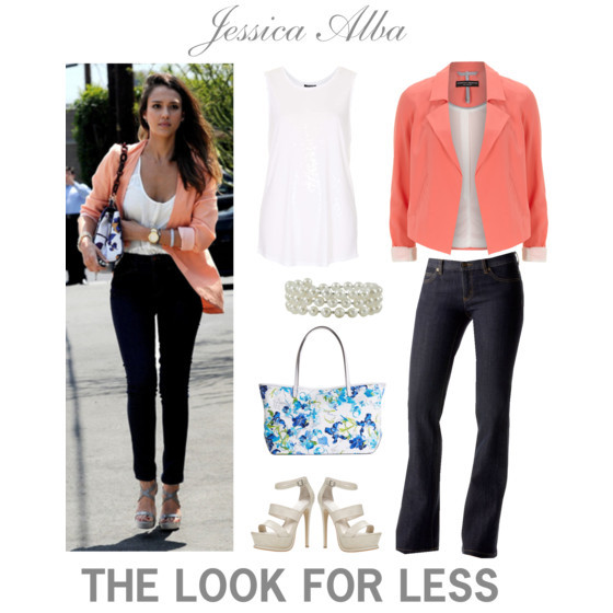 Get Jessica Alba's look for less | www.shoppingmycloset.com