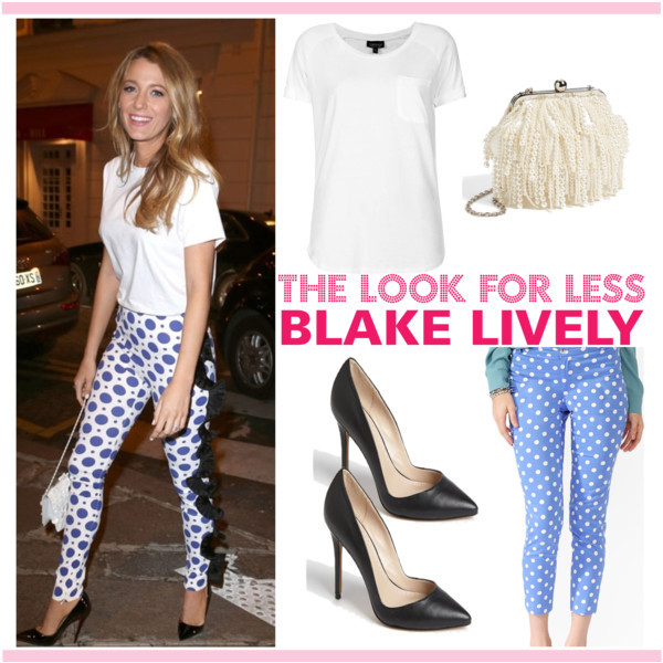 The look for less: Blake Lively | www.shoppingmycloset.com