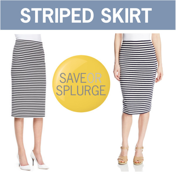 Striped midi skirt @tibi @vincecamuto | www.shoppingmycloset.com