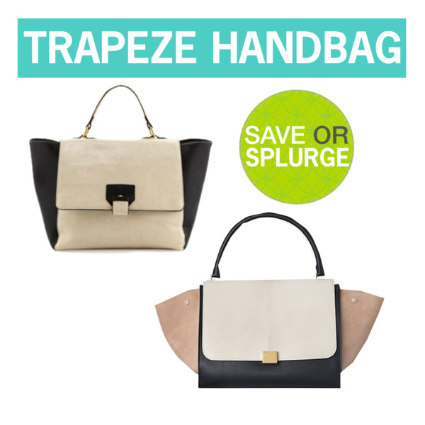 Save or splurge: trapeze handbags | www.shoppingmycloset.com