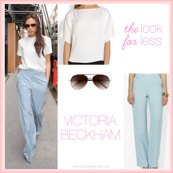 The look for less: Victoria Beckham | www.shoppingmyclost.com