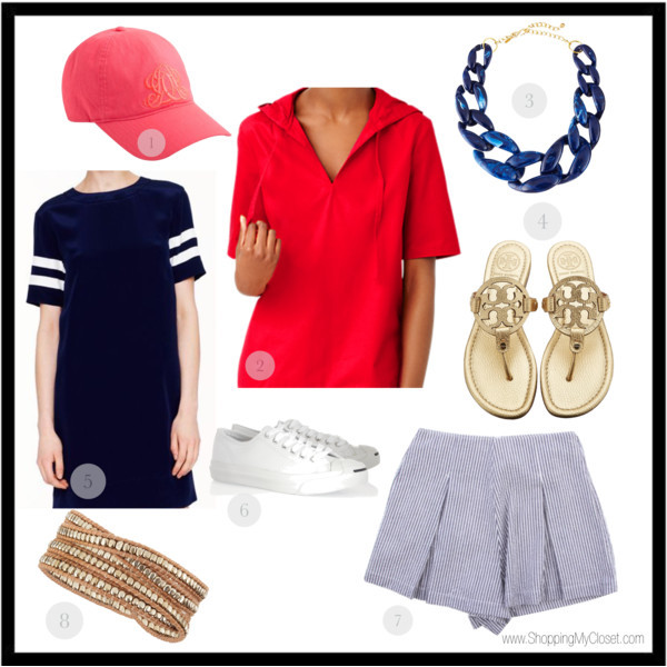 Patriotic outfits | www.shoppingmycloset.com