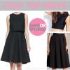 Save or splurge: crop top dress | www.shoppingmycloset.com