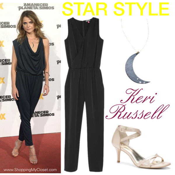 Star style: Keri Russell | www.shoppingmycloset.com