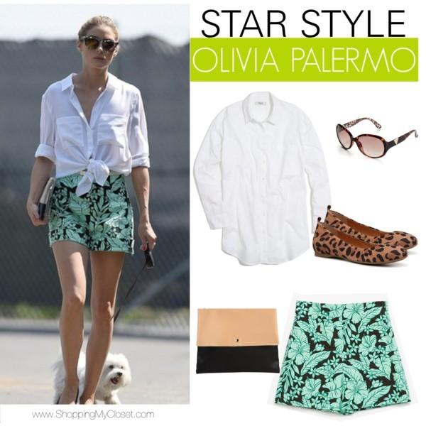 Star style: Olivia Palermo | www.shoppingmycloset.com