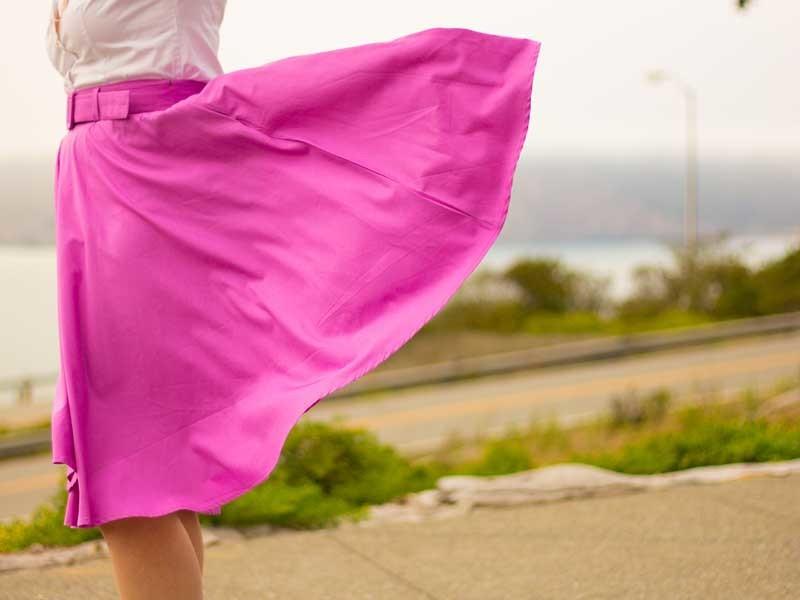 White button-down shirt | Pink midi skirt | Leopard print heels | Bow bracelet | Rose gold leaf necklace | www.shoppingmycloset.com @gap #gap @eshakti #eshakti @bananarepublic #bananarepublic @katespade #katespade @laurenconrad #laurenconrad
