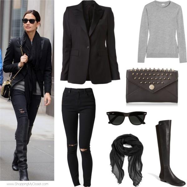 Star style: Lily Aldridge | www.shoppingmycloset.com