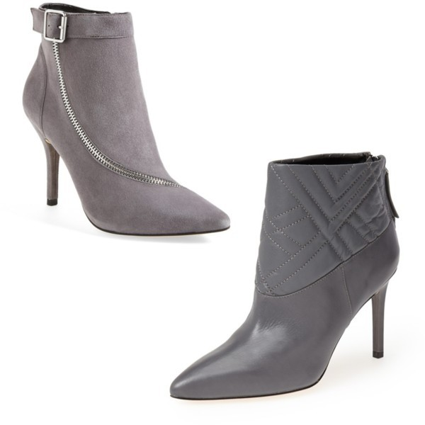Style trend: grey ankle bootie | www.shoppingmycloset.com