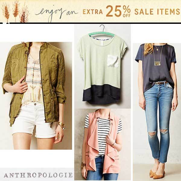 Anthropologie sale picks via www.shoppingmycloset.com