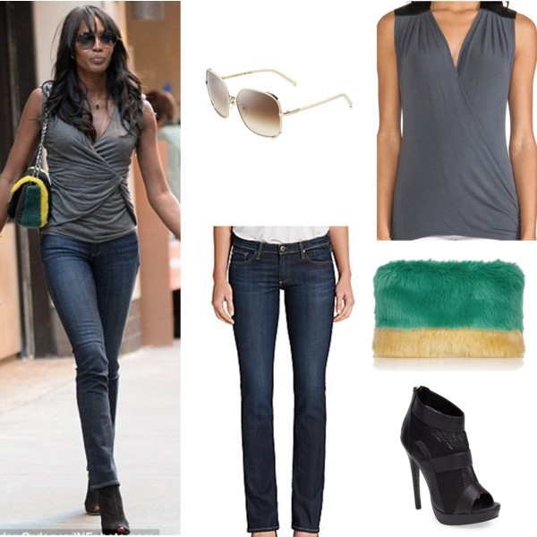 Star style: Naomi Campbell | www.shoppingmycloset.com