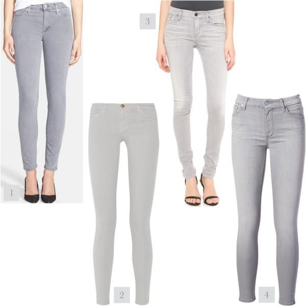 Style trend: grey denim | www.shoppingmycloset.com