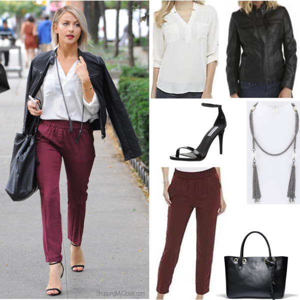 Star style: Julianne Hough | www.shoppingmycloset.com