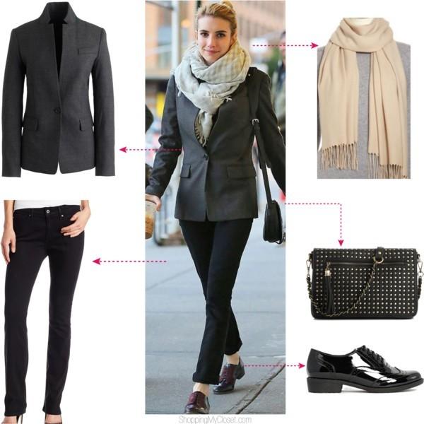 Star style: Emma Roberts | www.shoppingmycloset.com