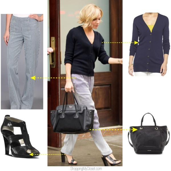 Star style: Sienna Miler | www.shoppingmycloset.com