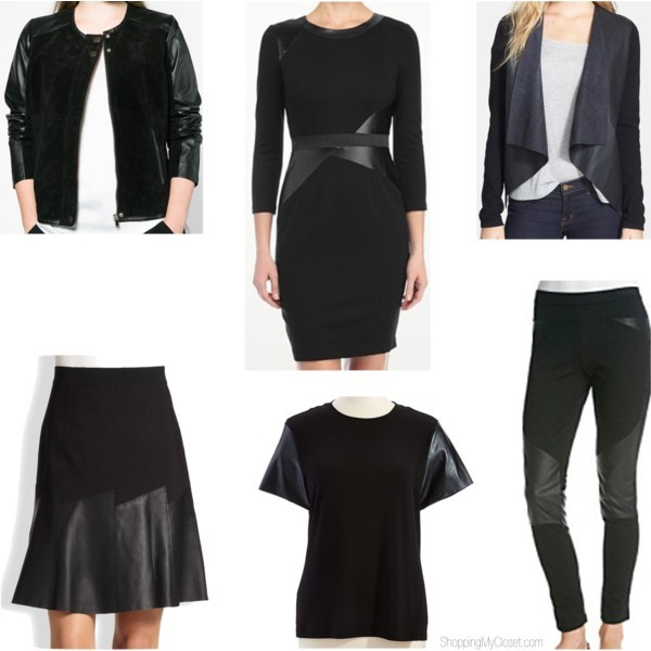 Style trend: leather accents