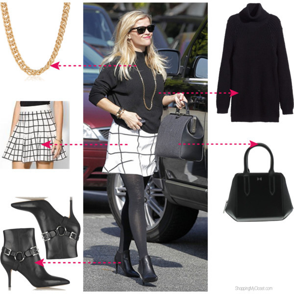 Star style: Reese Witherspoon | www.shoppingmycloset.com