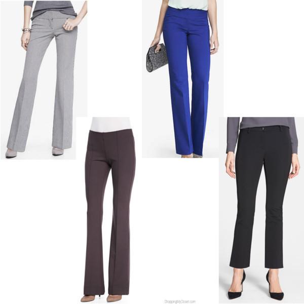 Style trend: flare leg pants | www.shoppingmycloset.com