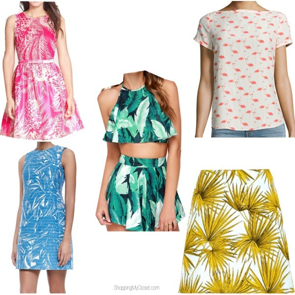 Tropical prints | www.shoppingmycloset.com