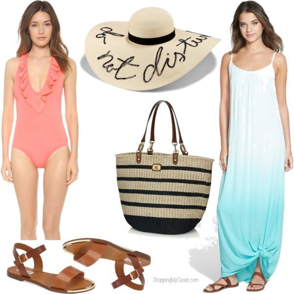 Tropical vacation packing list | www.shoppingmycloset.com