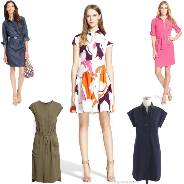 Shirt dress pick | www.shoppingmycloset.com