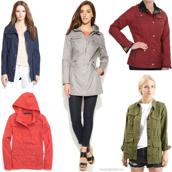 Utility jackets | www.shoppingmycloset.com