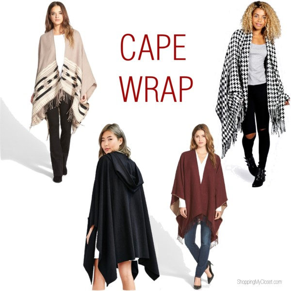 Cape wrap | www.shoppingmycloset.com