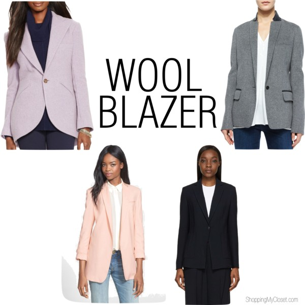 Wool blazers | find all options at www.shoppingmycloset.com