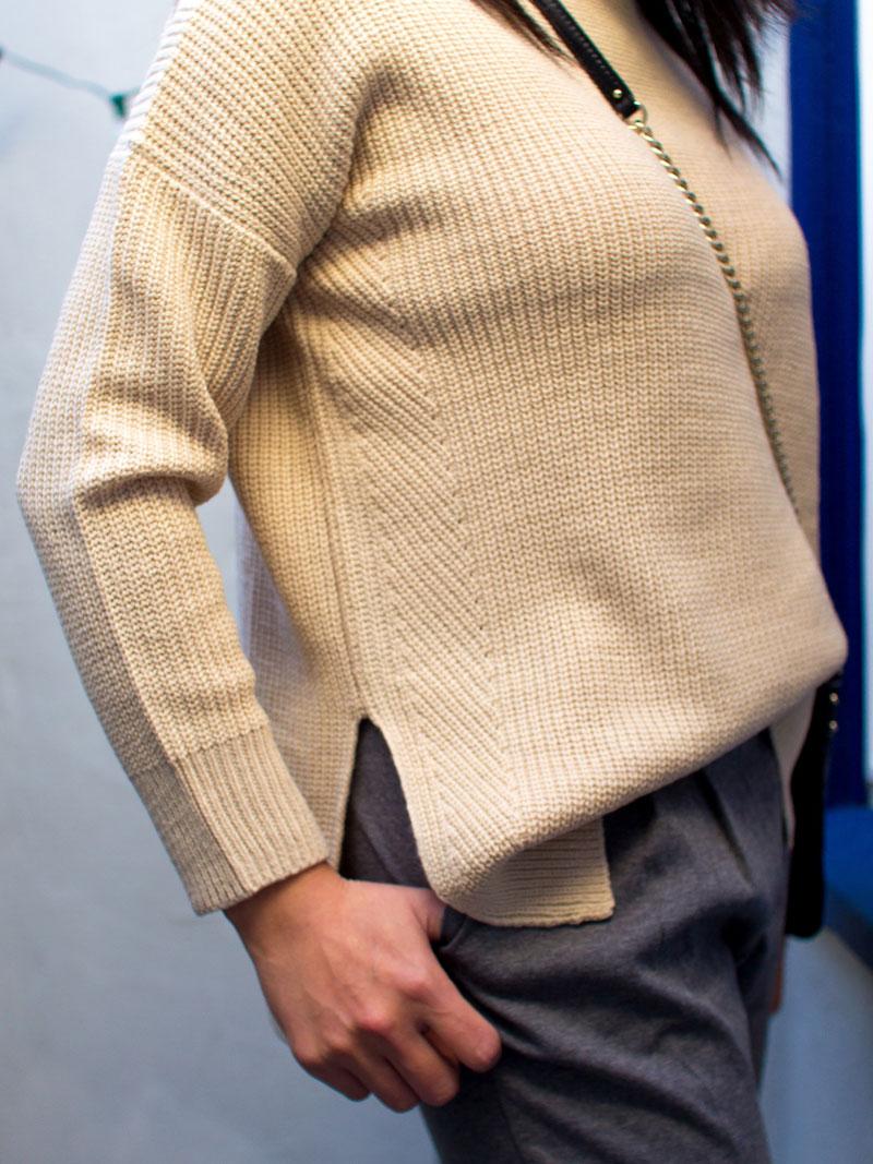 Camel mockneck side split | grey jogger pants | leopard flats | quilted crossbody purse | www.shoppingmycloset.com    @topshop #topshop @katespade #katespade @nordstrom #nordstrom