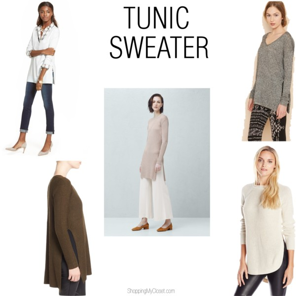 Tunic sweaters | see all the options at www.shoppingmycloset.com