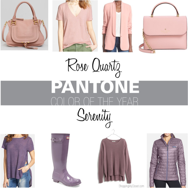 Pantone color 2016 | see all the picks at www.shoppingmycloset.com