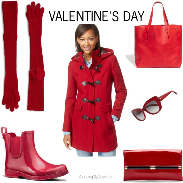 Red gifts for Valentine's day | www.shoppingmycloset.com