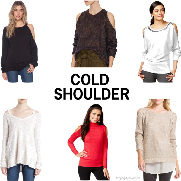 Shoulder cut out sweaters | www.shoppingmycloset.com