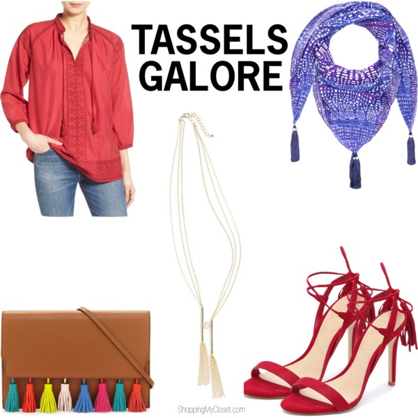Tassels | see all the picks at www.shoppingmycloset.com