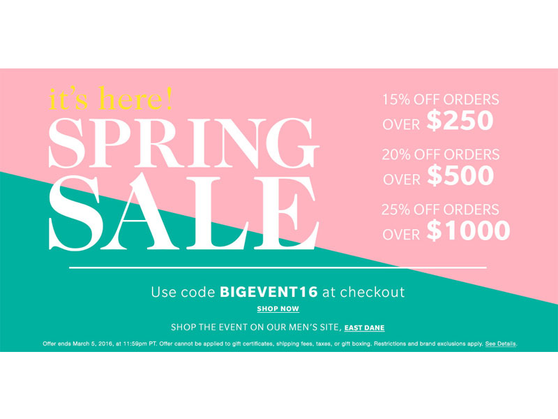 ShopBop spring sale | see all the picks at www.shoppingmycloset.com