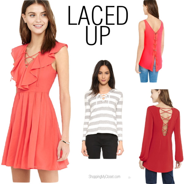 All laced up | see all the picks at www.shoppingmycloset.com