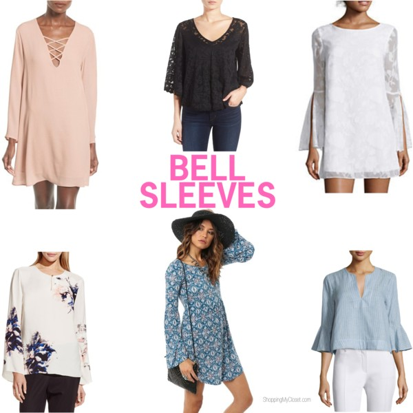 Bell sleeves | see all the picks at www.shoppingmycloset.com
