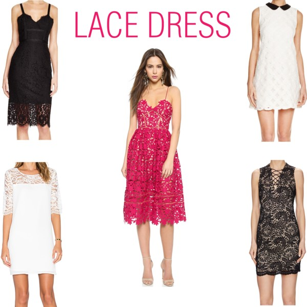 Lace dresses | see all the picks at www.shoppingmycloset.com