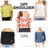 Off shoulder tops | see all the picks at www.shoppingmycloset.com