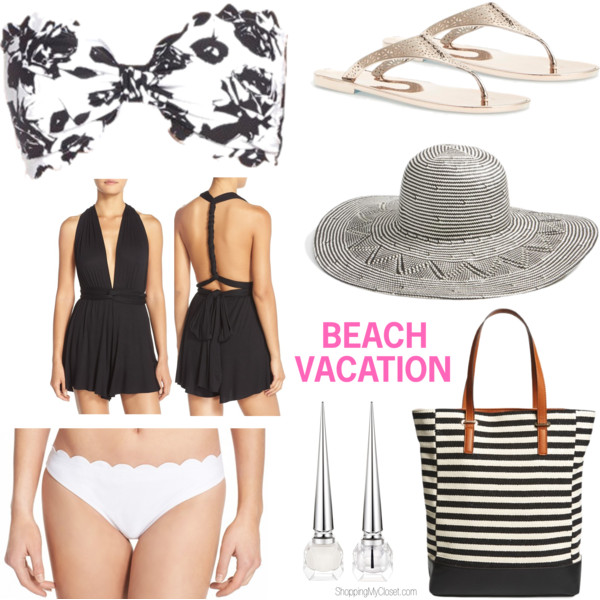 Things to pack for your next vacation | www.shoppingmycloset.com