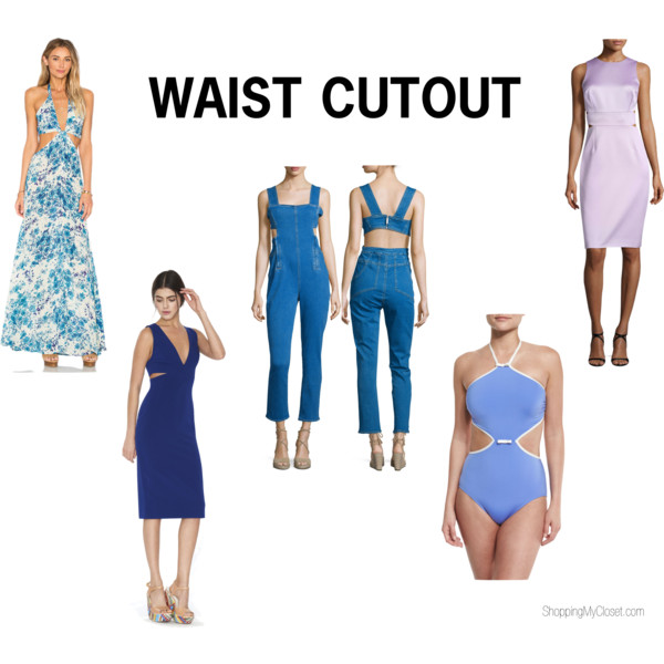 Style: waist cutout | see all the picks at www.shoppingmycloset.com
