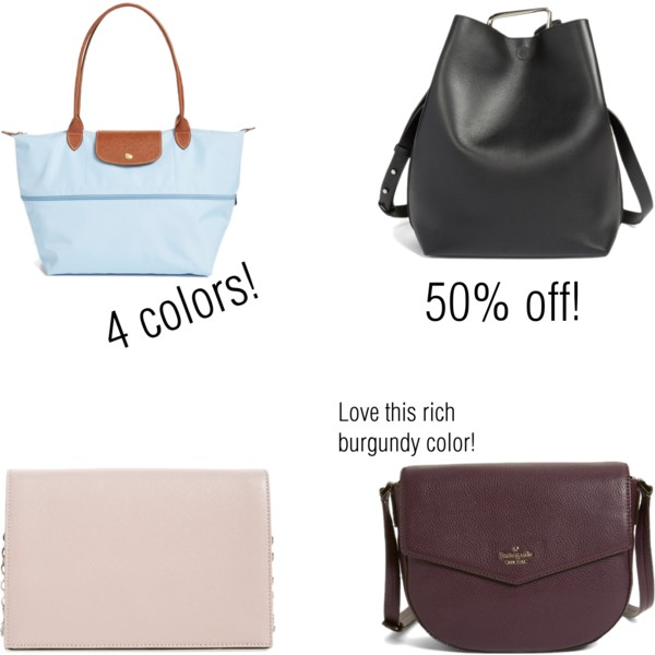 Nordstrom anniversary sale   see all the purse picks at www.shoppingmycloset.com
