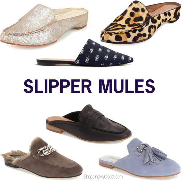 Slipper mules | see all the picks at www.shoppingmycloset.com