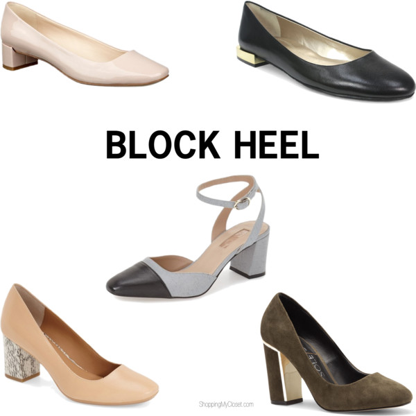 Block heel | see all the picks at www.shoppingmycloset.com